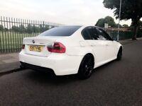 *** BMW 320D M SPORT IN AMAZING WHITE ***