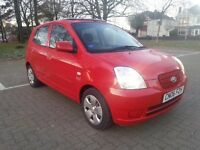 2006 '06' Kia Picanto 1.1 Zipp Genuine 53k 1 Owner Cheap Tax / Insurance ka fiesta corsa