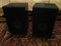 Rogers bookshelf hi fi speakers LS2a/2 as used by BBC