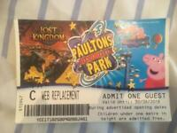 Peppa Pig Ticket