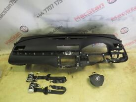 VW PASSAT B7 AIR BAG KIT, DASHBOARD, SEAT BELTS FITS 2013-15 MODELS