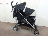 Double pushchair / pram / stroller / buggy