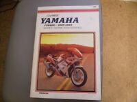 yamaha fzr 6001989-1993 clymer workshop repair manaul