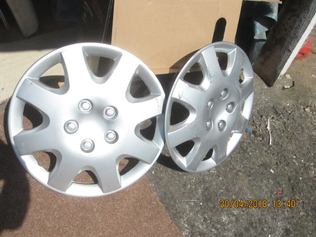 Two 15 Inch Wheel Trims Halfords Essentials 15 In St George