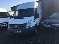 2011 ford transit lwbase hightop low mileage taken in px today in nice condition good driver longmot