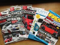 French Car magazines for sale