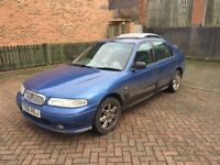 ROVER 400 AUTOMATIC WITH MOT DRIVES VERY WELL