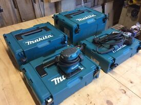 Makita mac pack systainer cases, palm sander and impact driver