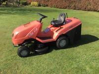 Castlegarden ride on mower lawnmower