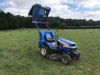 Iseki sgr19 diesel hi tip ride on mower