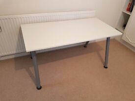 IKEA 'THYGE' Adjustable Height Desk with Cable Management