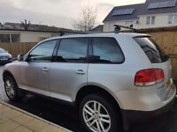 Volkswagan touareg for sale spares or repairs