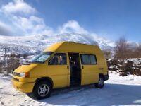 Campervan VW Transporter T4 synkro, long wheel base + high top, 1999 Camper van