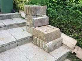Reclaimed Concrete Blocks Ideal For Garden Project £1.00 each
