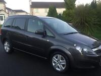 Vauxhall Zafira exclusiv cdti 2012 53k