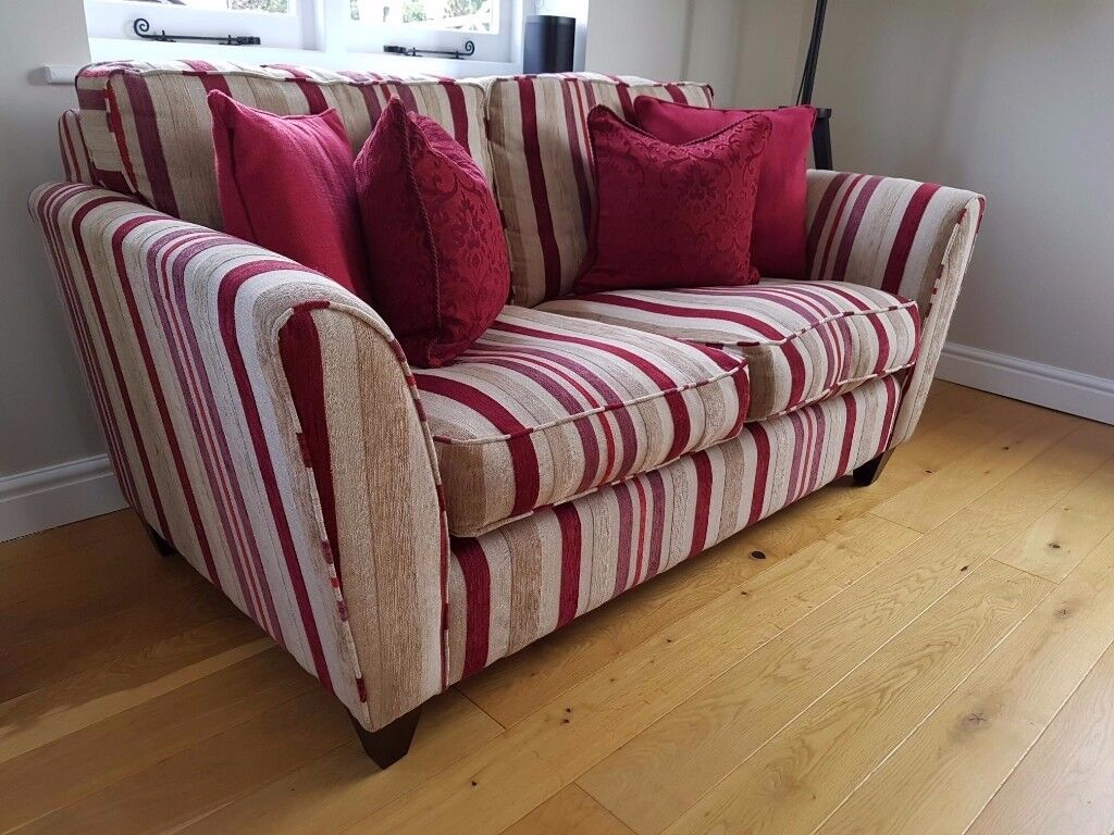 Laura Ashley 2 Seater Fabric Sofa Ashton Range In