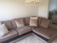 Sofa - 1 year old - selling due to house move