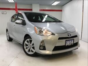 2014 Toyota Prius c very low km/tech pkg/smrt key/crs ctrl/push