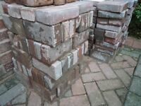 Brindle Clay Paving Bricks / Block Pavers - Ideal for Driveways 3+ metres 160+ in total
