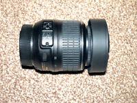 Nikon 18-55mm lens.