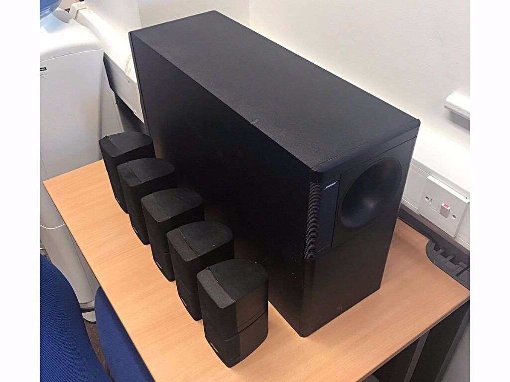 bose acoustimass 10 series 2 home theater speaker system 5. Black Bedroom Furniture Sets. Home Design Ideas