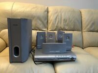 Philips home theatre system 5 + 1 old but working