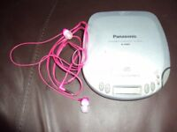 Panasonic CD Walkman