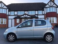 TOYOTA YARIS, 04 REG, 1 OWNER, FDSH, HPI CLEAR, 92K MILES, MOT, DELIVERY AVAILABLE, DRIVES MINT