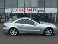 CONVERTIBLE!! 2003 03 MERCEDES-BENZ SL 5.0 SL500 2D AUTO 306 BHP **** GUARANTEED FINANCE ****