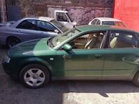 Audi A4 2.0 se saloon petrol 2002