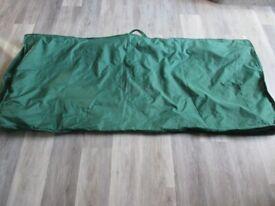 Large Alexandra Rose cushion bag for garden furniture