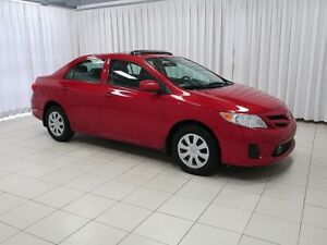 2013 Toyota Corolla GREAT VALUE! INCREDIBLY LOW KMS!
