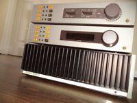 Quad 405-2 'current dumping' amp, 34 pre-amp and fm4 tuner