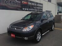 2011 Hyundai Veracruz LIMITED AWD DVD LEATH ROOF