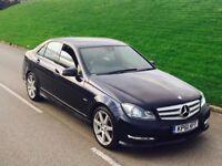 2011 61reg Mercedes-Benz C Class 2.1 C220 CDI Sport Edition 125 7G-Tronic 4dr**LEATHER,SATNAV,XENON*