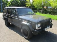 1996 N JEEP CHEROKEE 4.0 LIMITED AUTO FULL MOT LEATHER TOW BAR PRIVACY GLASS SUPER DRIVE PX SWAPS