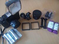 Medium Format Camera - Lomography Diana F+