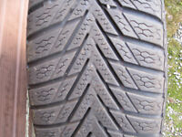 Continental Winter Tyres Steel Rims - Honda, Vauxhall, Fiat, Civic, Astra, Corsa, Punto+ others
