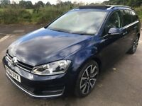 Stunning Condition And Superb Specification 2015 Golf GT Estate Blue Motion Automatic 19000 Miles