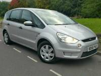 2007 FORD S-MAX 1.8 TDCI LX*7 SEATS*CHEAP TAX+INSURANCE*#GALAXY#MPV#SHARAN#ZAFIRA