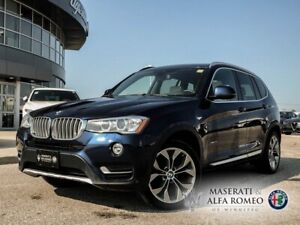 2016 BMW X3 Heated Seats, Pano Sunroof & Back-UP CAM