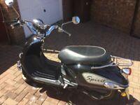 125 cc retro scooter