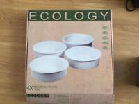 Ecology 4 Pie dishes BRAND NEW