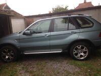 Sale BMW X5 3.0d 2003 automatic 85,500 miles