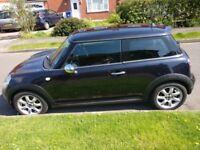 Mini Cooper 1.6 Petrol Met Black FDSH Excellent