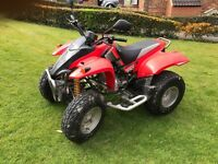 Road legal quad quadzilla 250cc comes with spare set of brand new off road tyres, helmet and cover