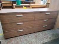 6 draw sideboard