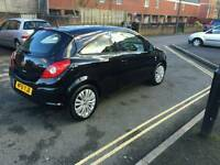 Black Vauxhall Corsa 1.3 diesel 4 sale