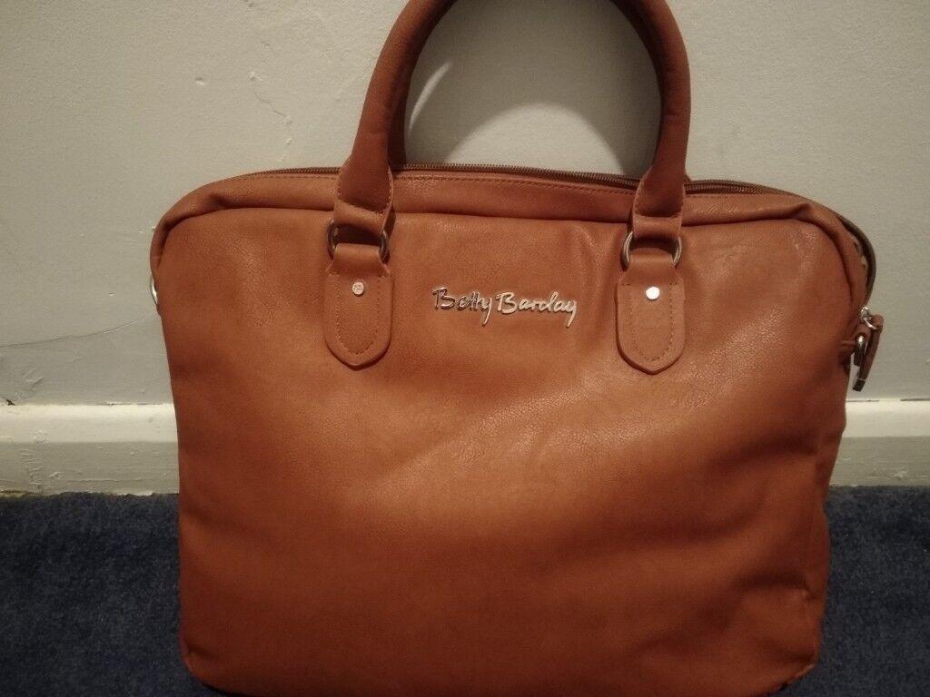 Betty Barclay Brown Laptop Bag