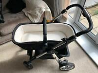 2 MONTHS OLD Silvercross pram and accessories